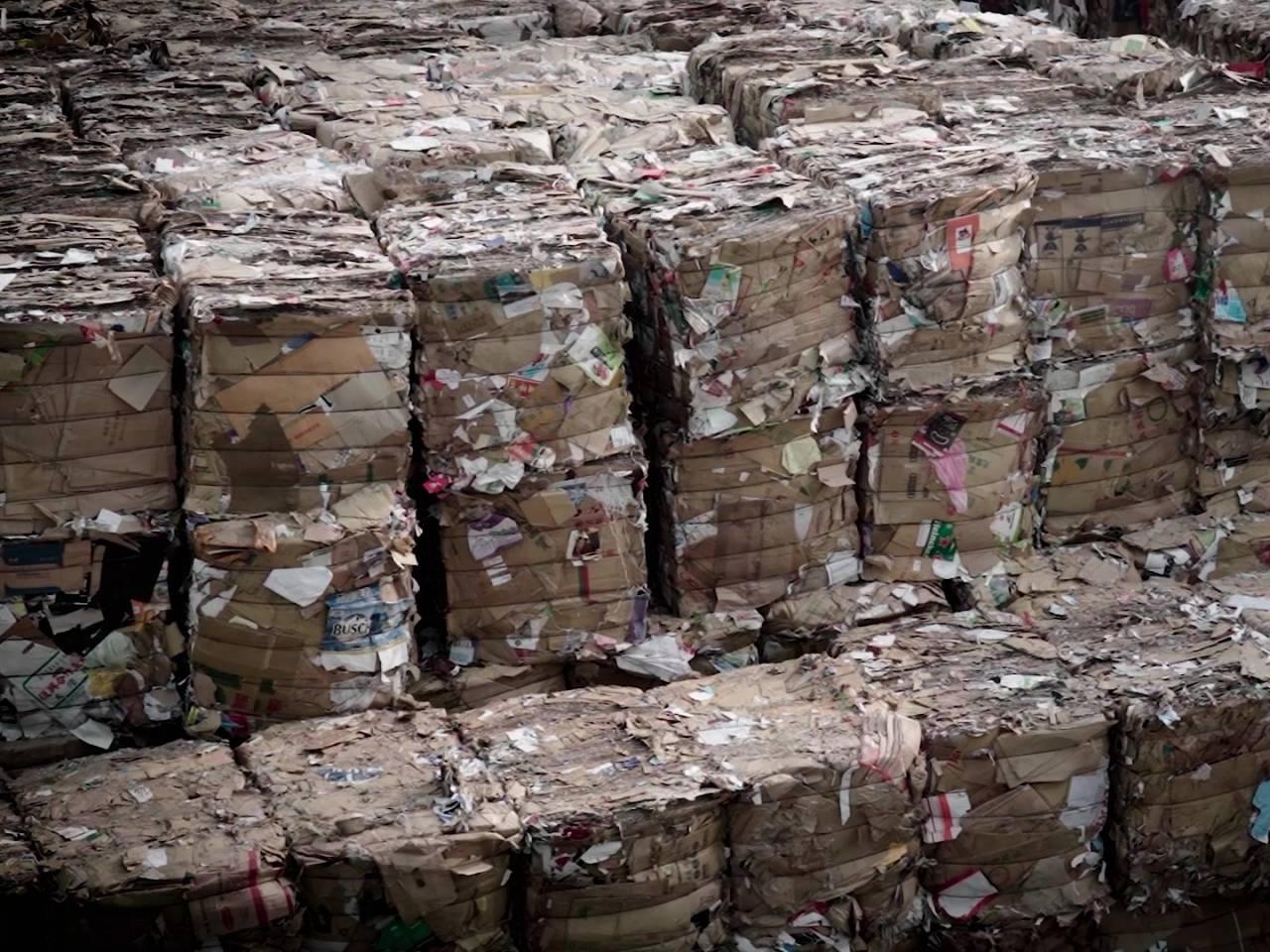 台灣廢紙回收世界第一!就連紙箱撕不掉的膠帶也能再利用