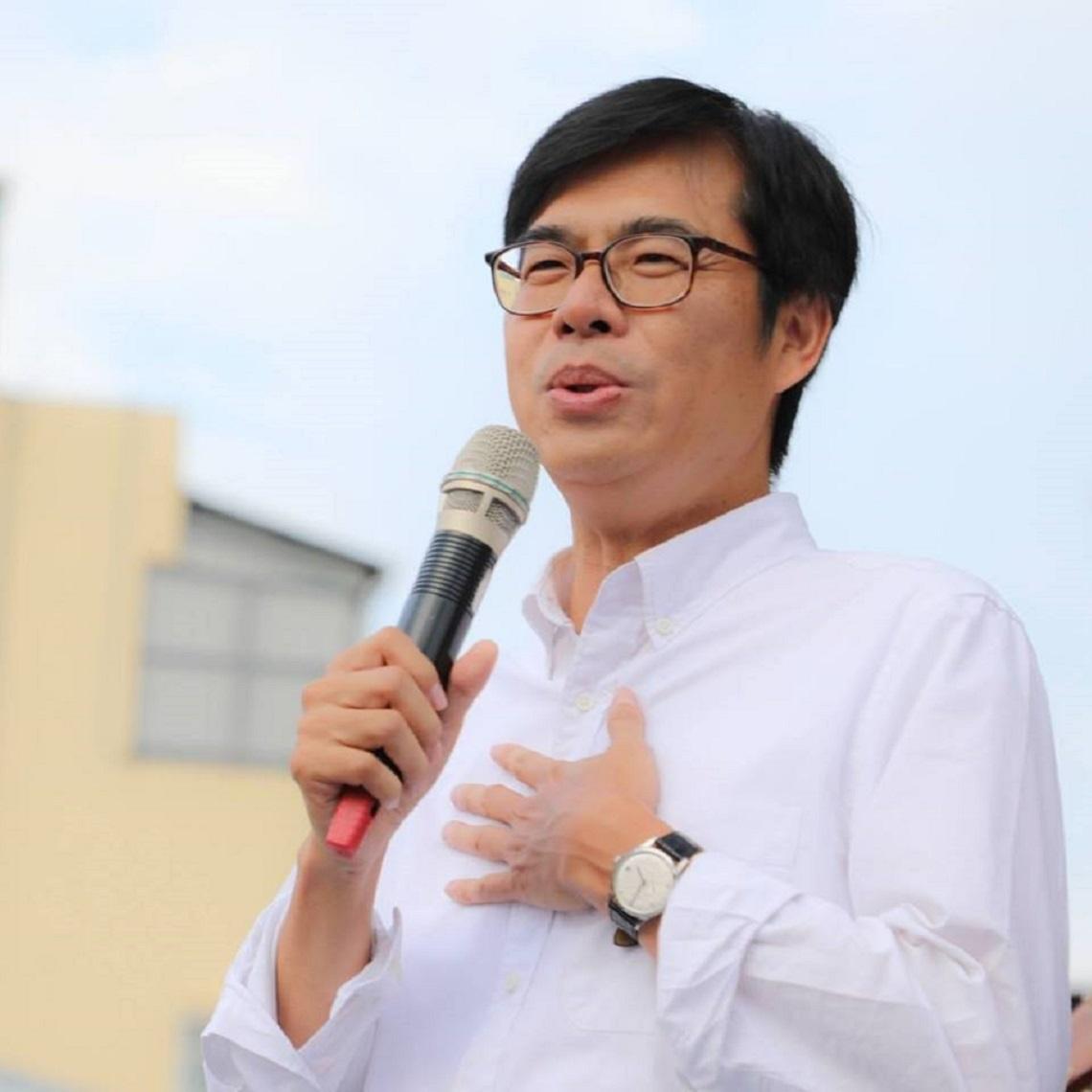 韓國瑜透露已找好市長接班人,陳其邁嚇到連問3次「這麼快?」