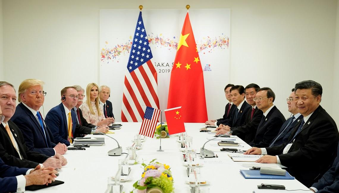 川習會結束》中媒指出:雙方將重啟貿易談判、美不課徵新關稅