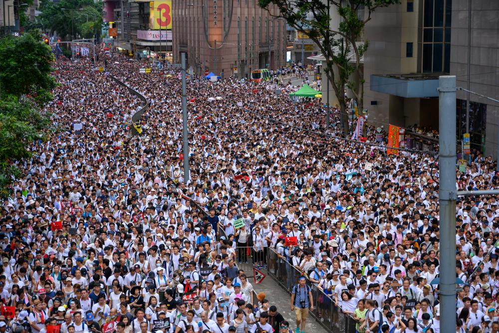 台師大教授看香港反送中 台灣明年大選是關鍵