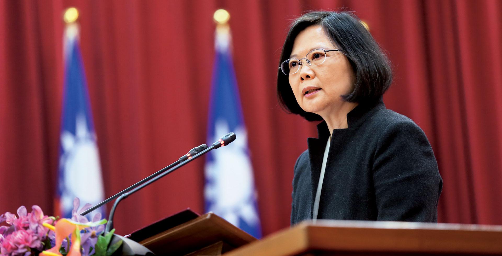 蔡英文:經濟穩定優先,下屆央行總裁匯率政策不會U型反轉
