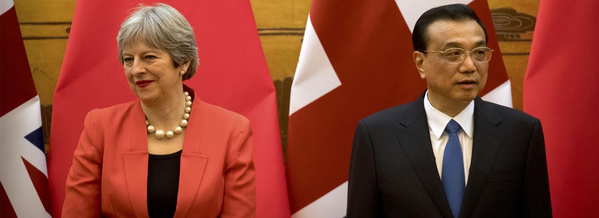 中英關係的春天  能拯救脫歐後英國經濟的冬天嗎?