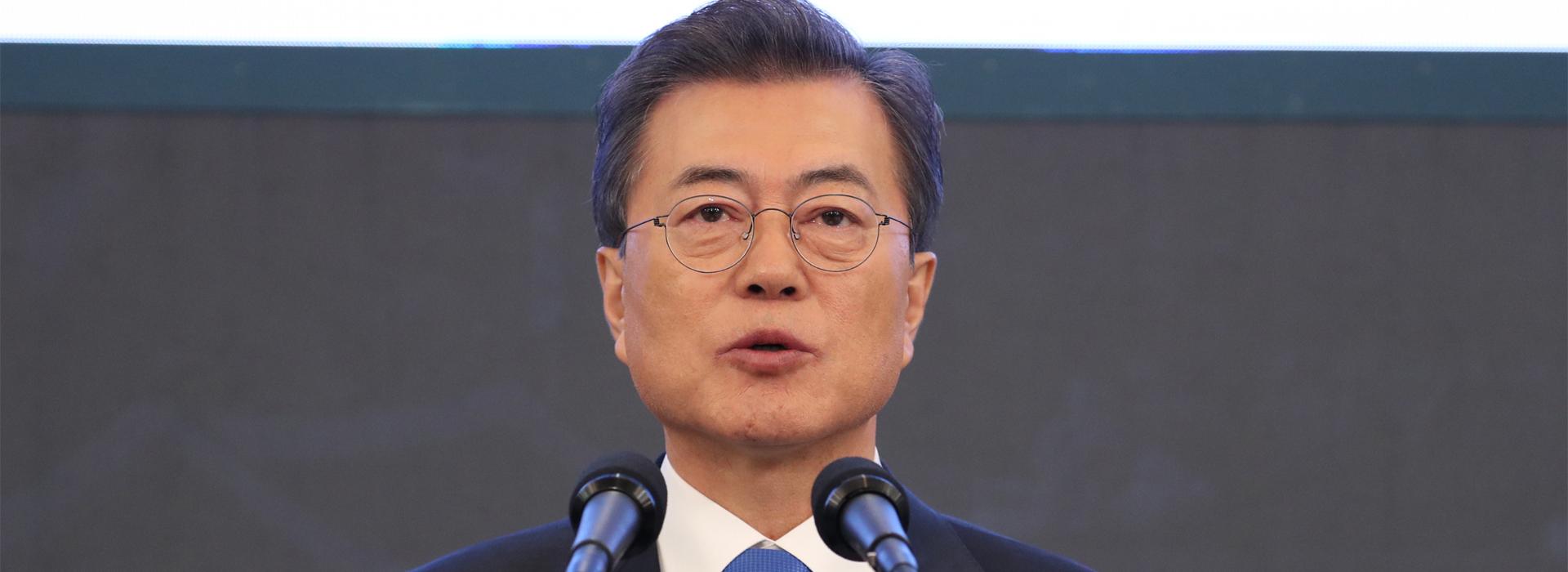 文在寅:北韓願棄核且不要求美從南韓撤軍