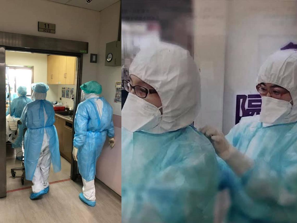 指揮中心:染疫醫師「狀況穩定」 醫護正用全力照料一起作戰的同袍!