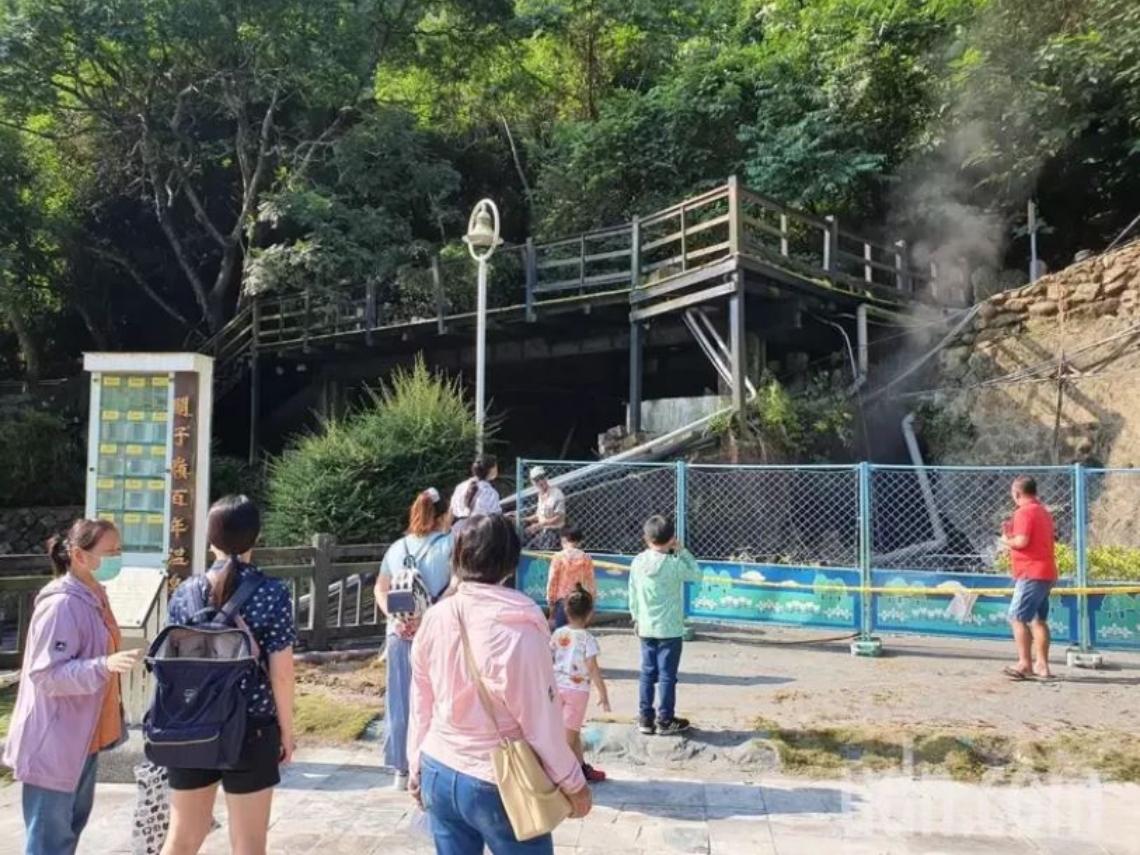 地震前兆?台南連3淺層強震前,關子嶺溫泉頭出水量突暴增10倍