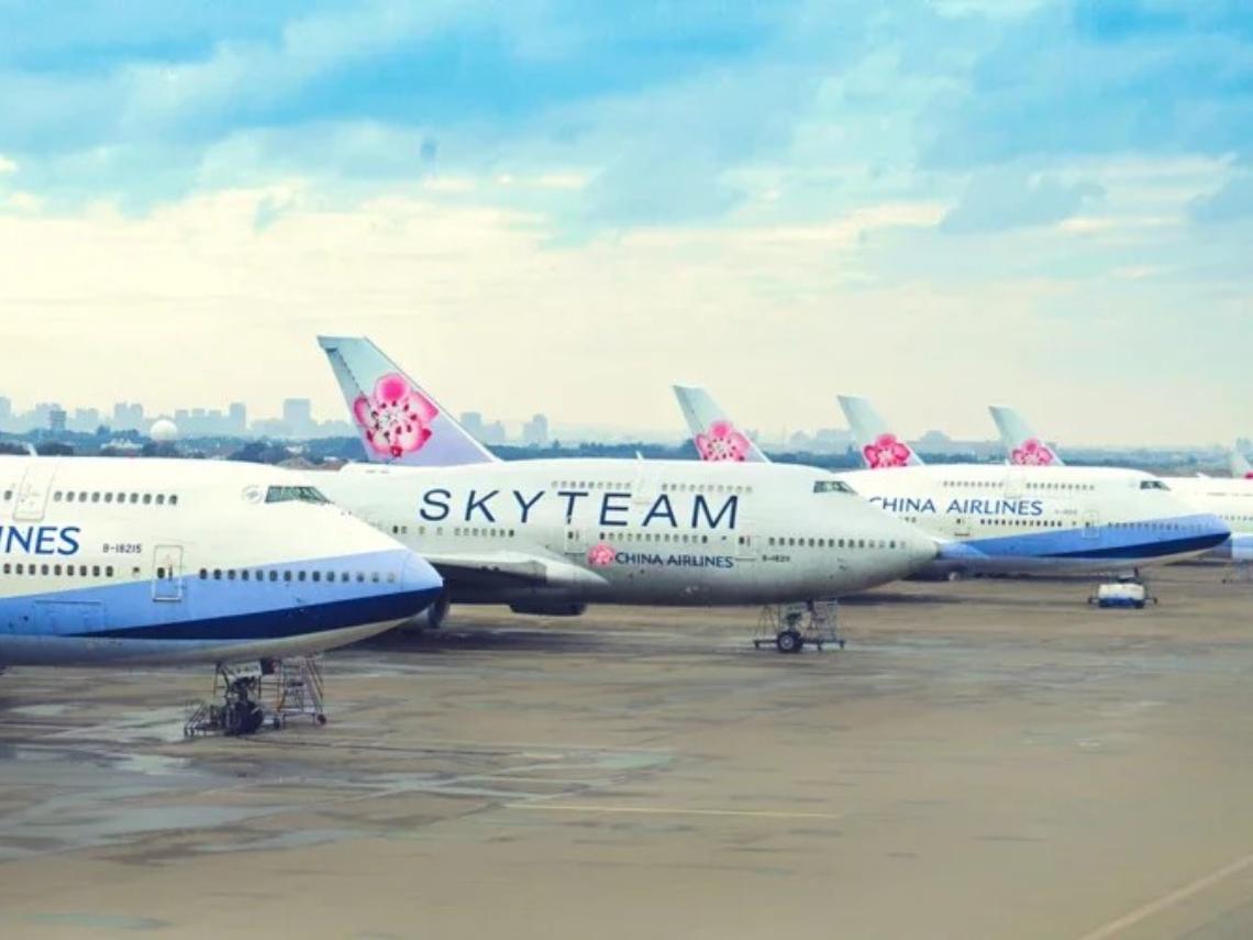 偽出國囉!俯瞰富士山...華航747空中女王「后翼起飛」2/6最後巡禮