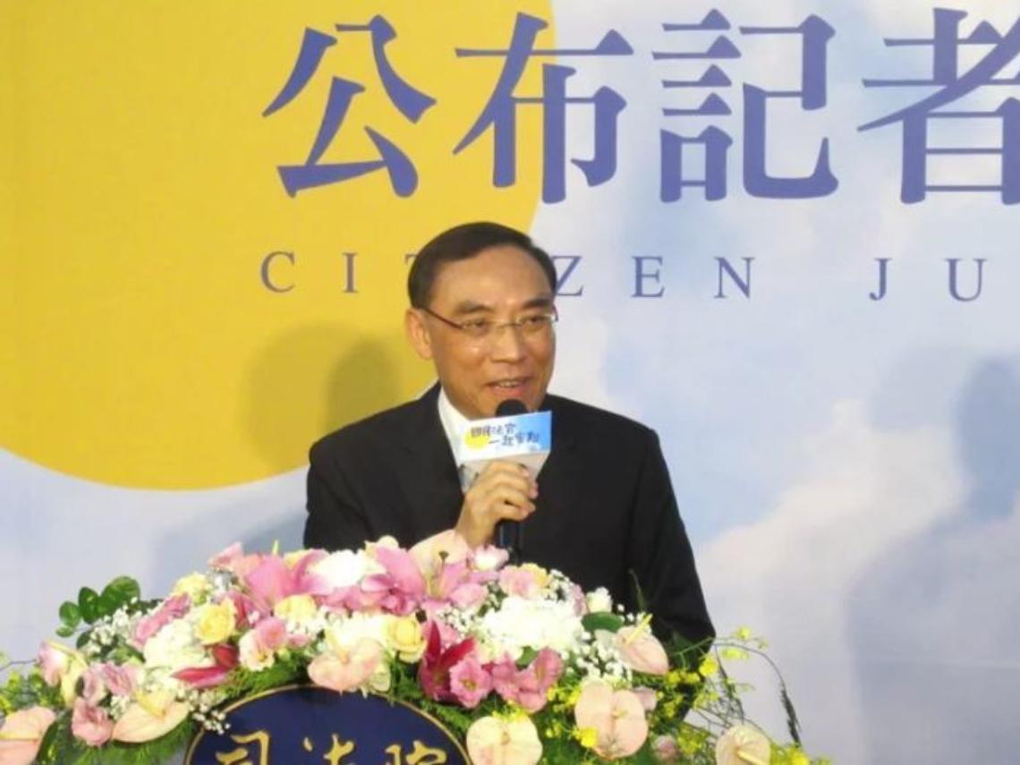 殺死母判無罪 法務部長蔡清祥:這種判決是很不好的示範