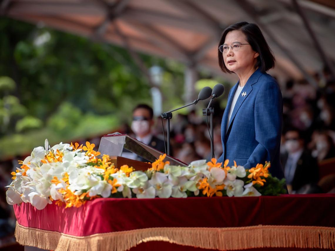 總統國慶演說全文》蔡英文:中國路徑裡,沒有台灣民主自由的生活方式,「4大堅持」不容主權被侵犯