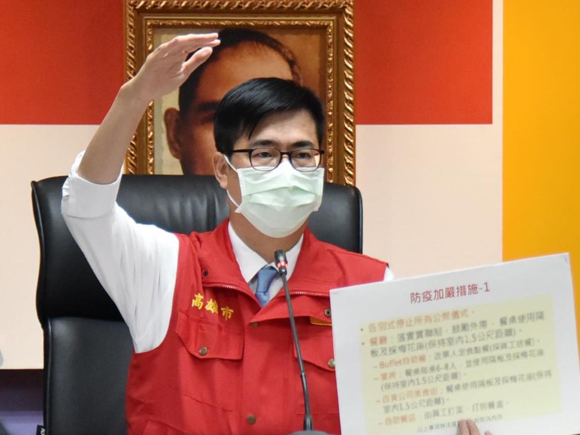 高雄仁惠醫院新增1確診!採檢居家隔離94人 陳其邁:個案去過萬華