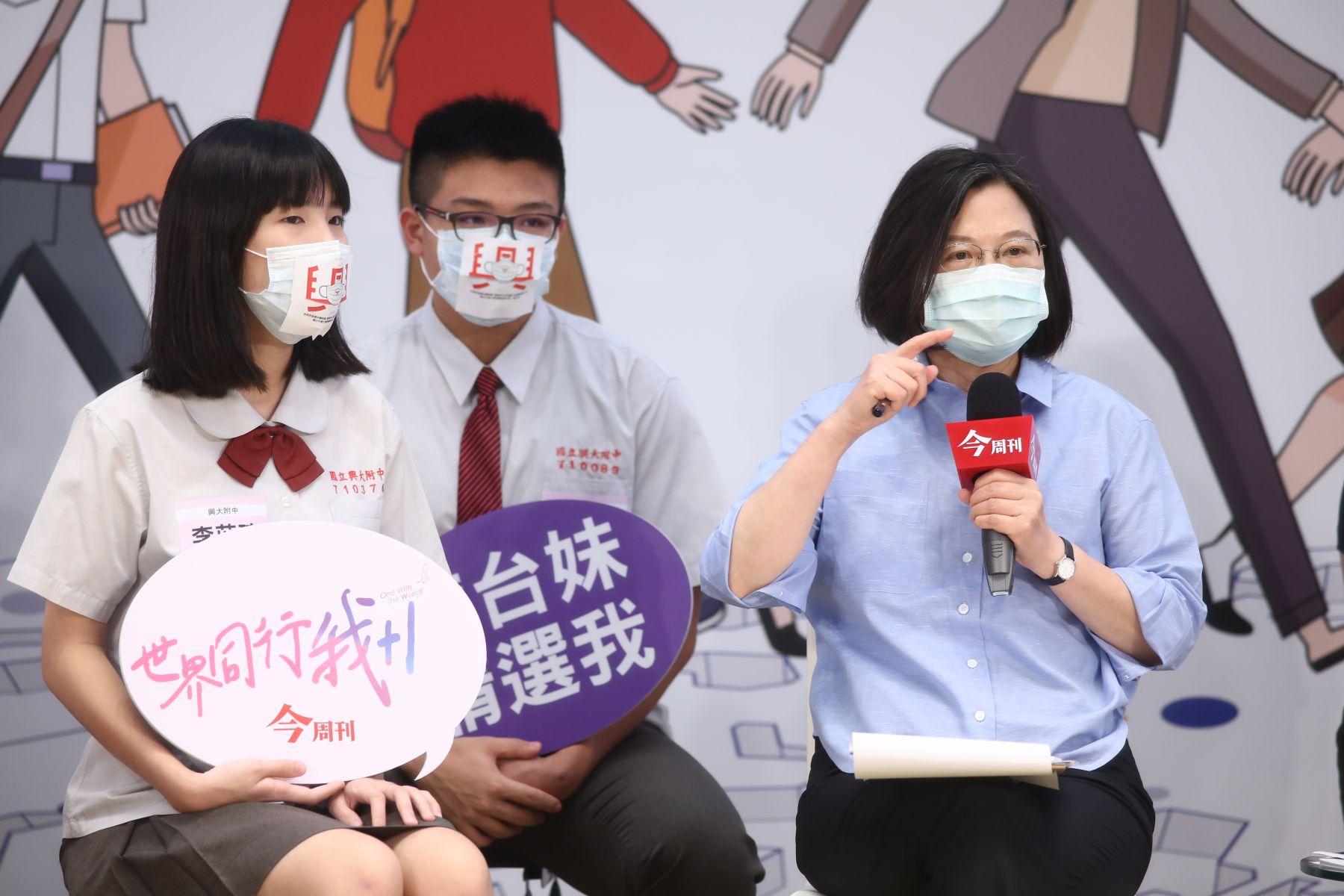 英文學不好?沒人敢當醫生? 高中生提問小英總統這樣答