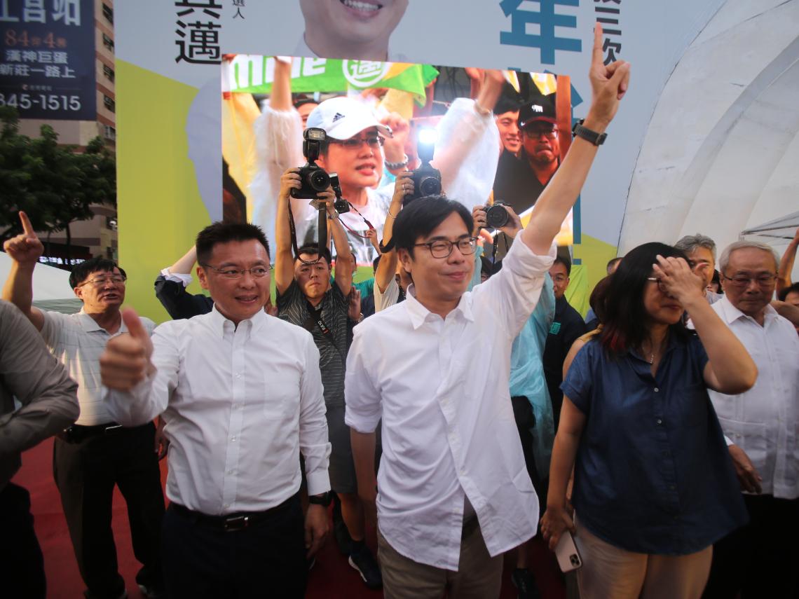 陳其邁勝選 蔡英文:兩年之內,我們一定要拚回高雄的光榮感!