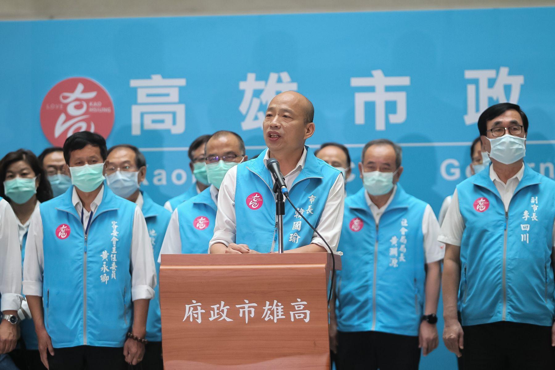 韓國瑜才說坦然接受結果...選後卻批「罷韓國家隊」 張雅琴:作風跟共產黨真像,還好罷掉你了