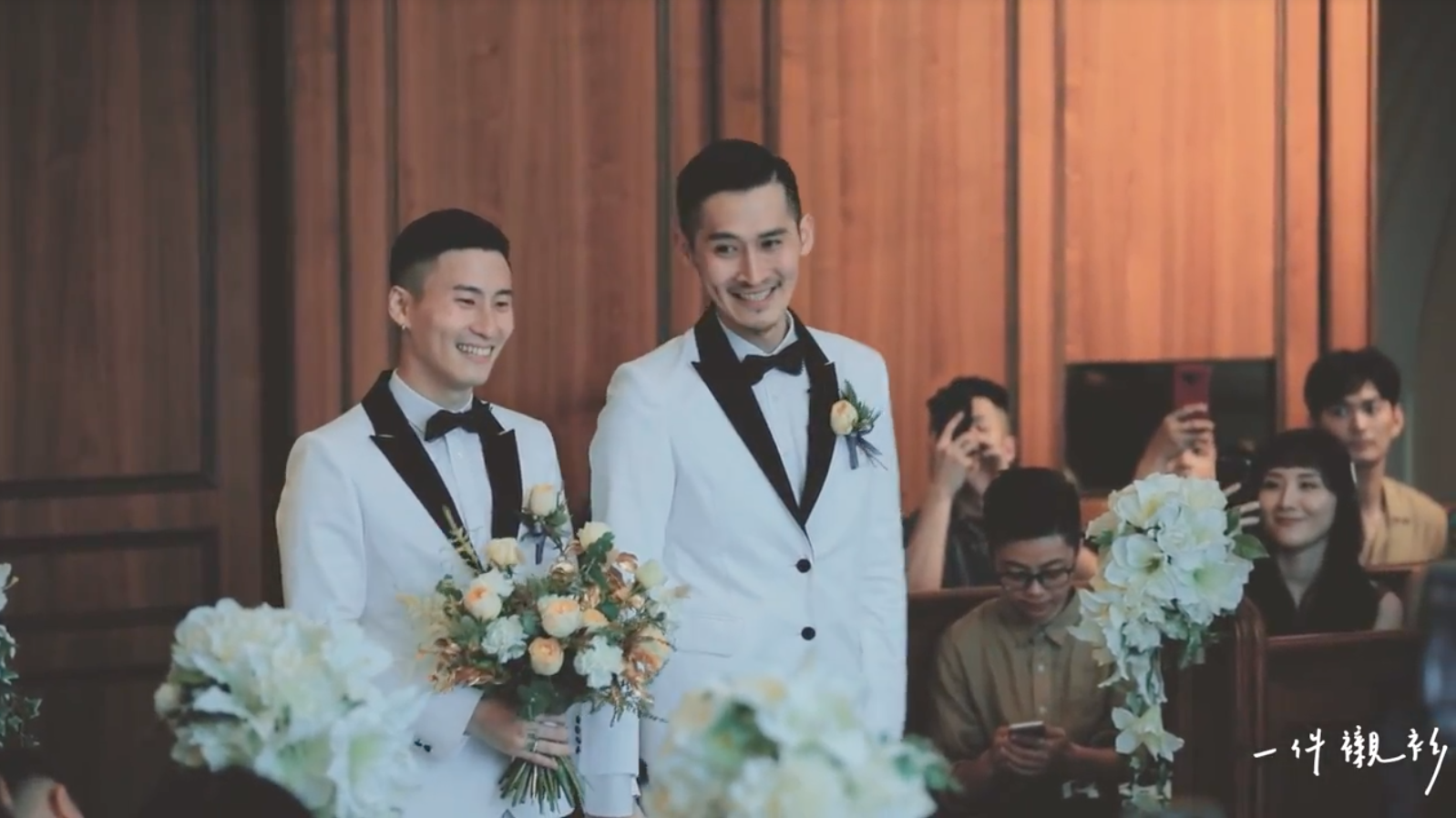 等了12年...台灣第一對合法結婚的「男生」:在愛面前,我們都一樣