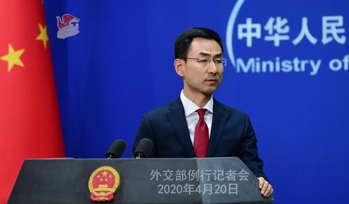 美國國會擬提法案向中國求償 耿爽:H1N1流感、愛滋病、全球金融危機,有誰要美國承擔後果?