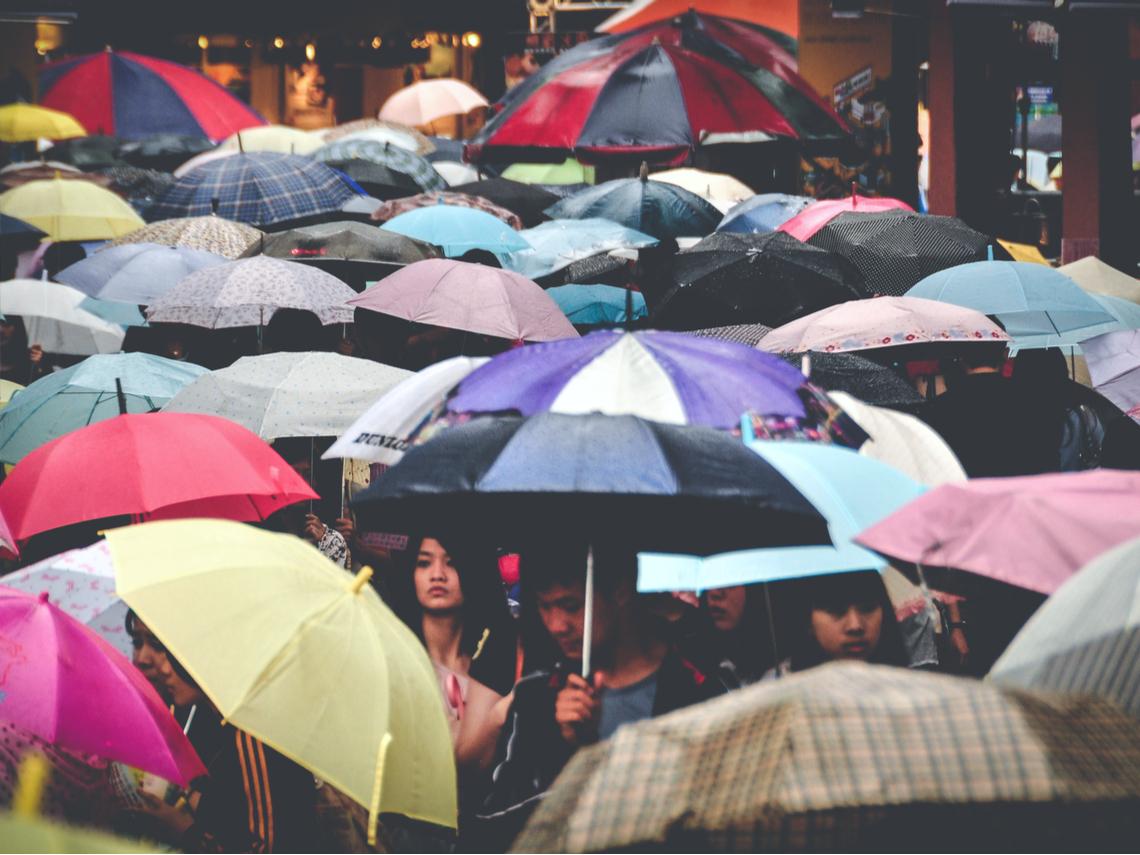今午後將變天各地有雨 下周低溫只剩9度