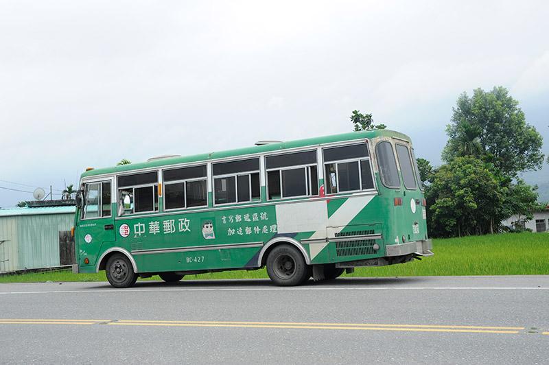 遇見它,是一種幸運!花蓮193縣道有一輛全台僅有的「龍貓公車」