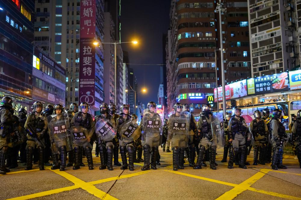 香港反送中對台灣2020大選的示範效果