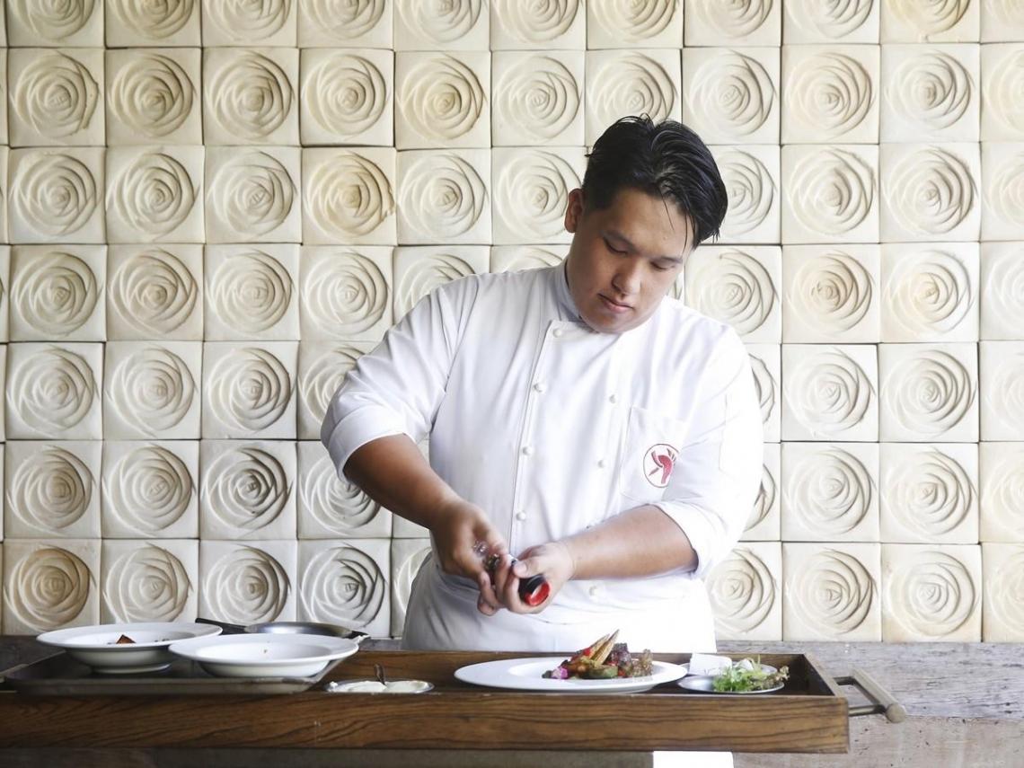 黃柏村,化料理為藝術的大指揮家
