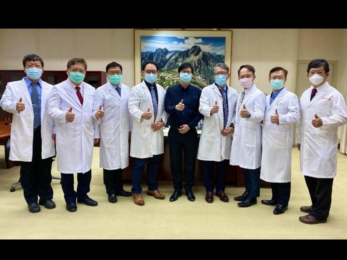 Clinics can Help!診所協會全聯會拜會陳其邁 表態願以「醫療群」為單位替防疫奉獻