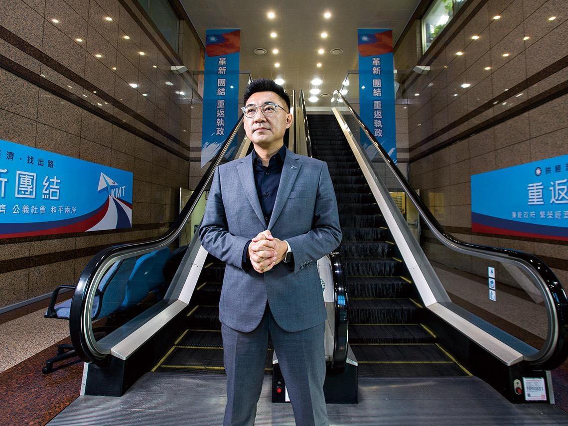 48歲「模範生」江啟臣  如何帶領國民黨轉骨