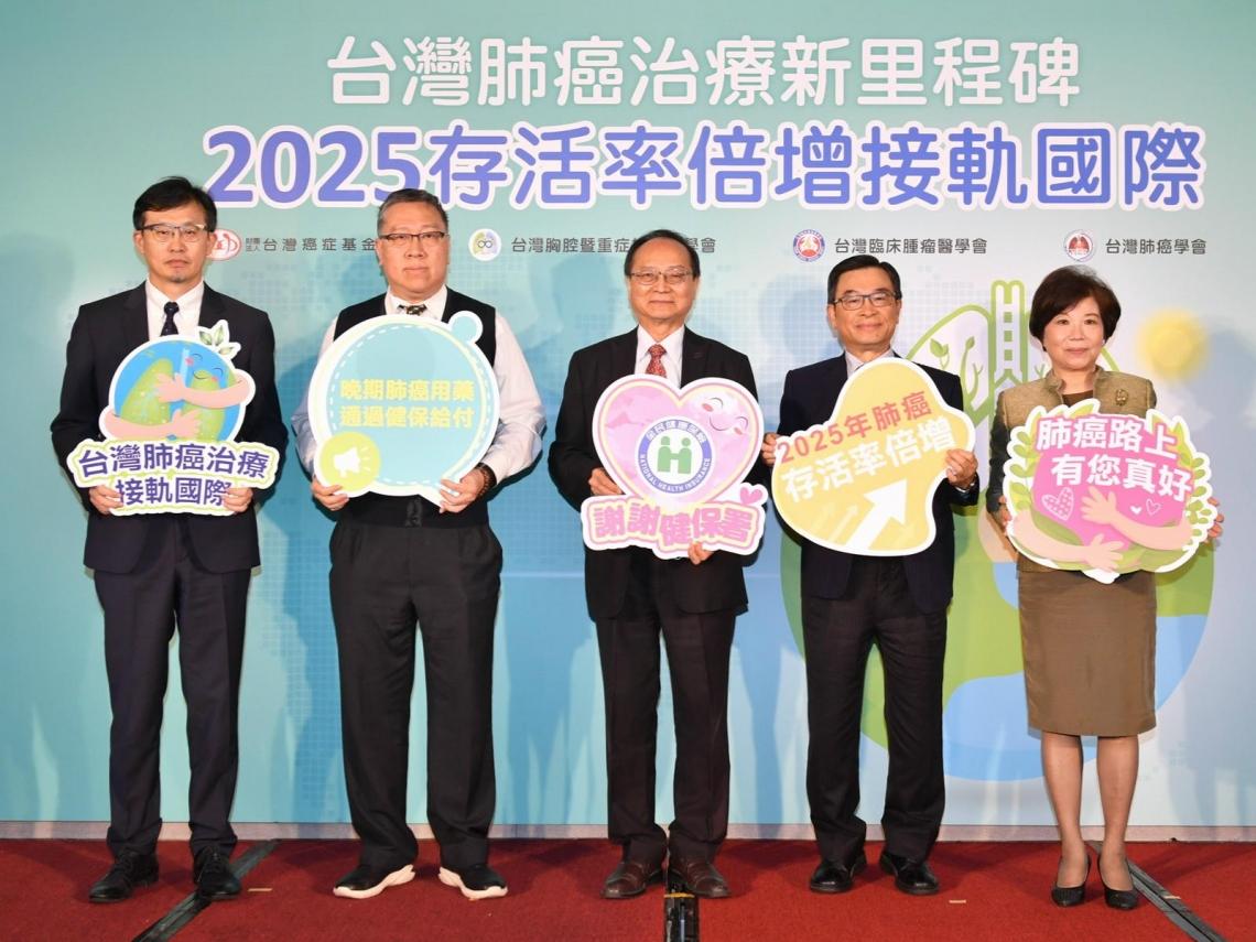 存活率提升近2倍!十大癌症之首「肺癌」死亡率下降,台灣癌症基金會揭3關鍵