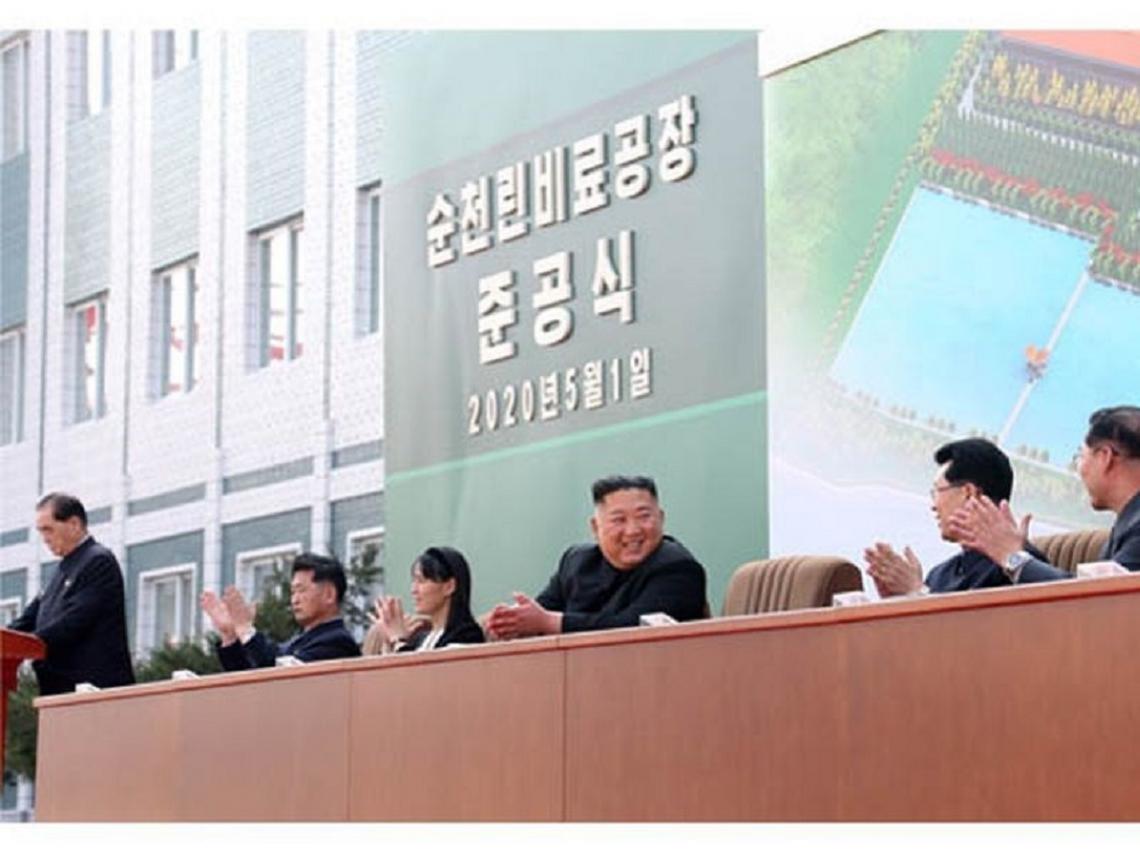 不只有照片!金正恩肥料場剪綵 北韓官媒釋出影片「加碼打臉」病危謠言