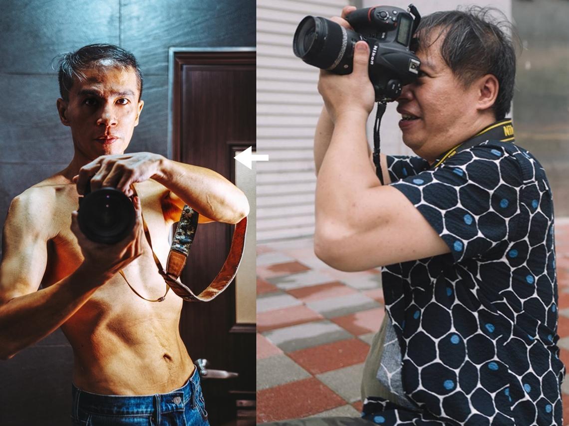 4個月甩肉28公斤!44歲攝影師只做2件事,體脂降一半:從胖阿伯變帥歐巴