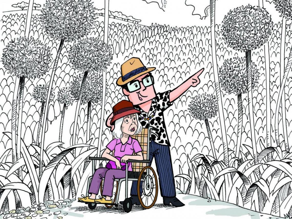 貼心照顧失智媽咪,用漫畫紀錄回憶 阿彬叔叔:把焦點放在快樂,現在換我照顧您