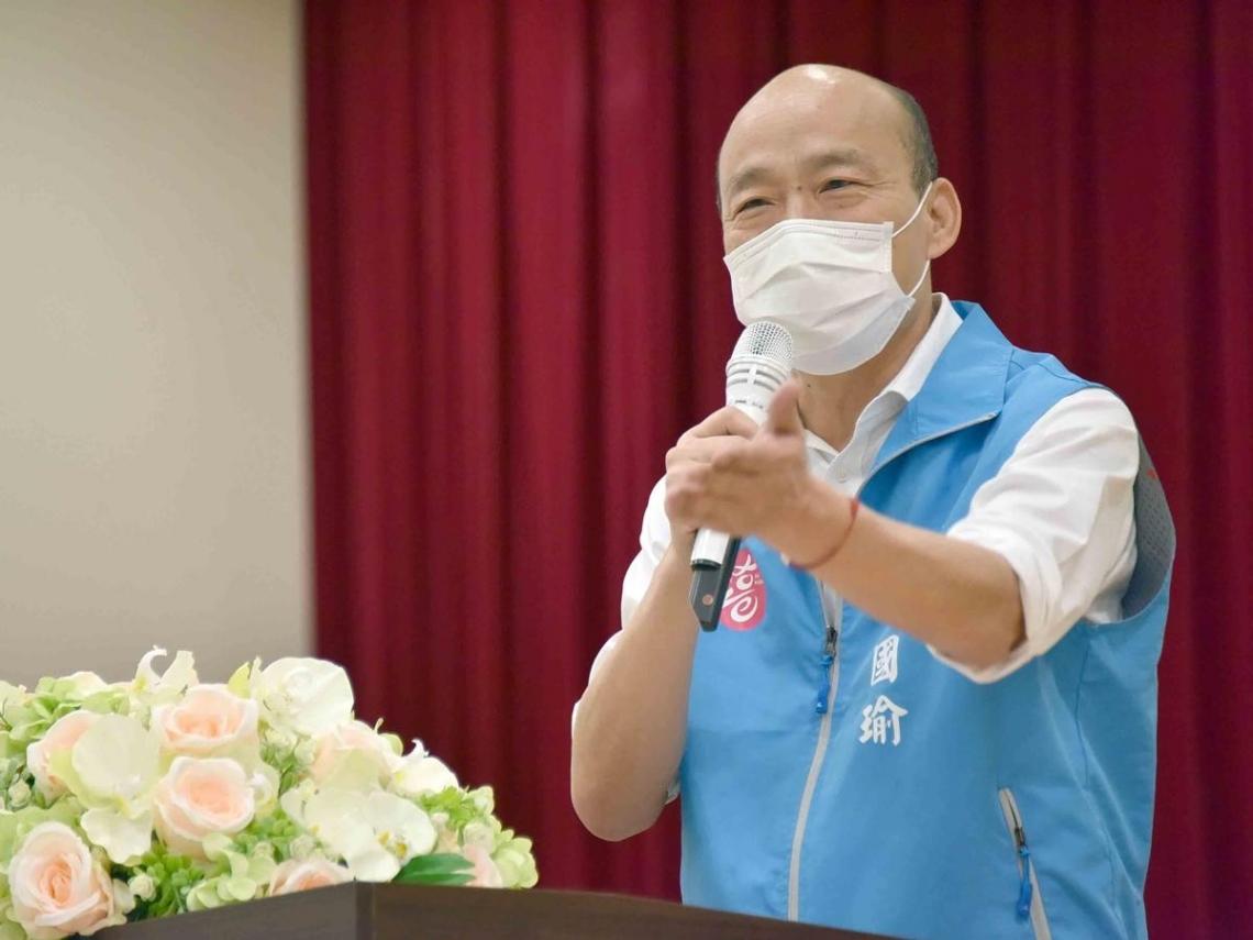 韓國瑜首度為「落跑選總統」道歉:請假3個月不在家,讓市民操心了