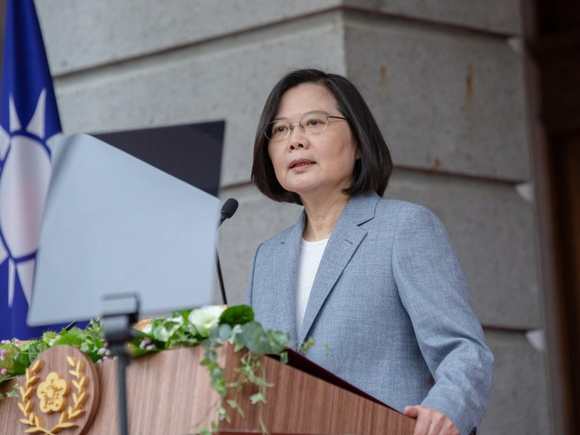 民調》蔡英文信任度達67.4% 50.8%認為其兩岸立場與做法對台灣國安有利