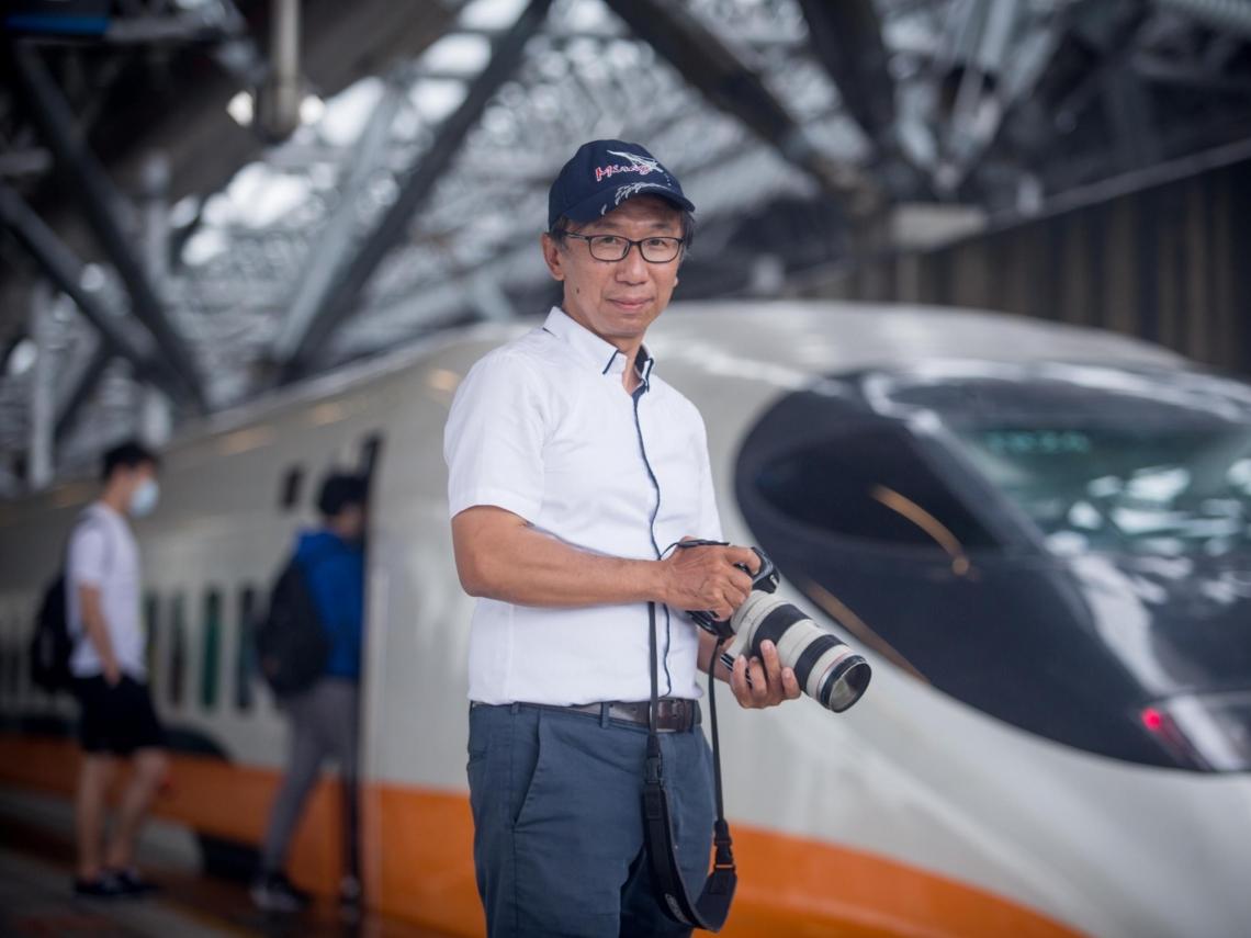 他拍高鐵超過16年!台灣「最懂高鐵攝影男」獲NHK邀請 變台日劇顧問