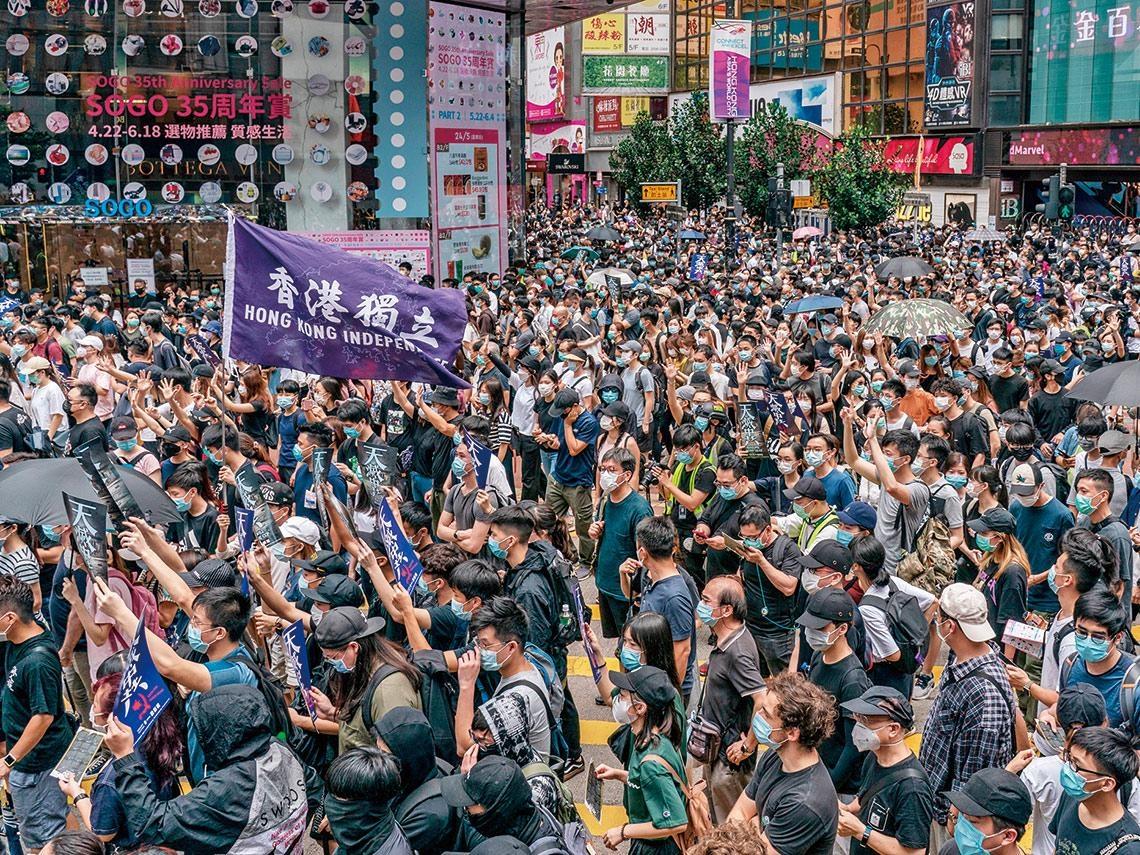 沒了「特殊地位」  香港面臨繁榮終局
