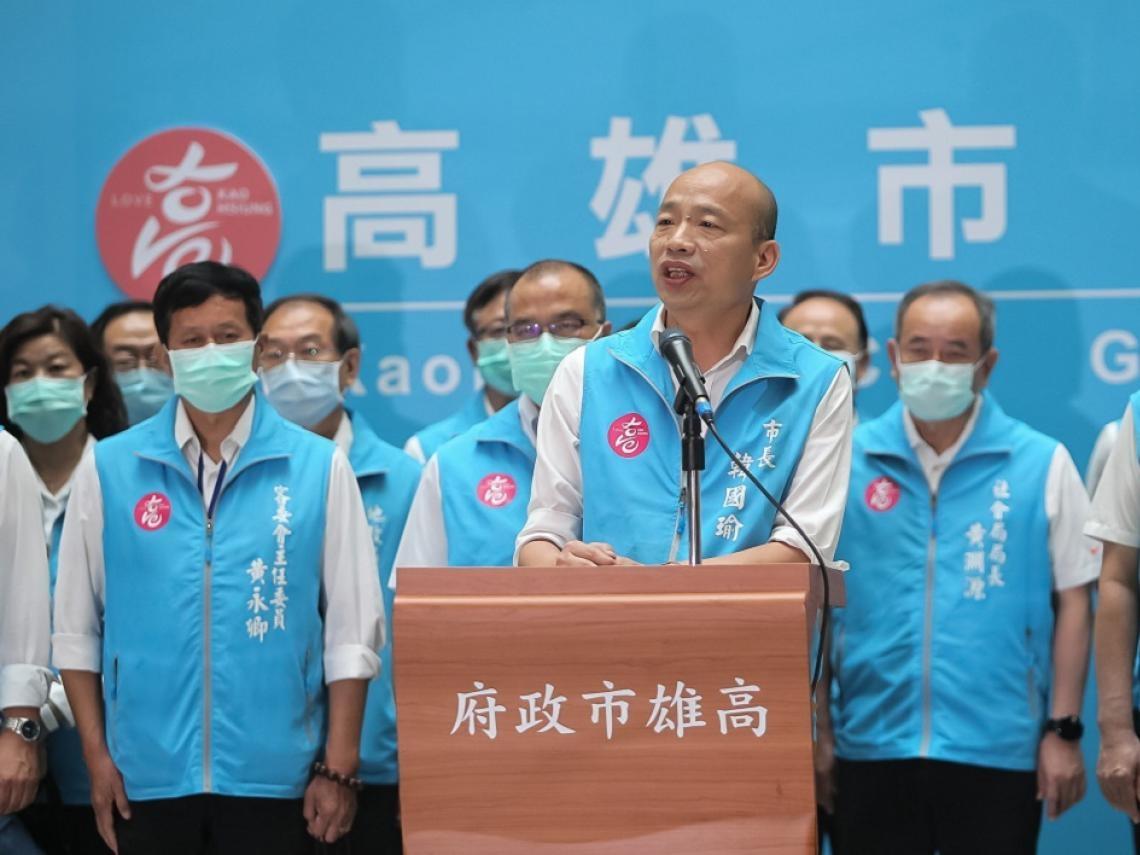 罷韓票數飆破90萬!發表「2感謝、3遺憾、1祝福」 韓國瑜:這是場不公不義的選舉