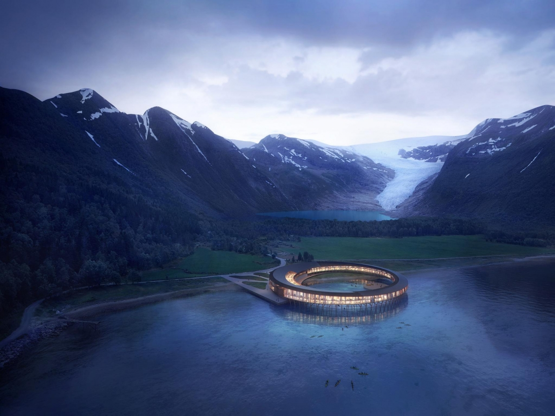 環保建築再升級!善用基地太陽能,挪威打造全球第一座「產能旅館」