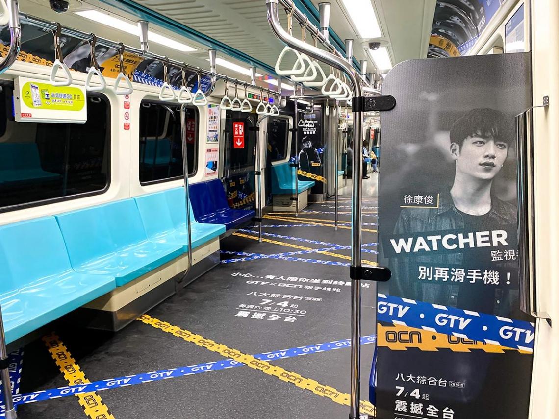 家外媒體吸睛術!電視劇宣傳有新意 韓劇明星現身北捷車廂 引爆粉絲追星潮