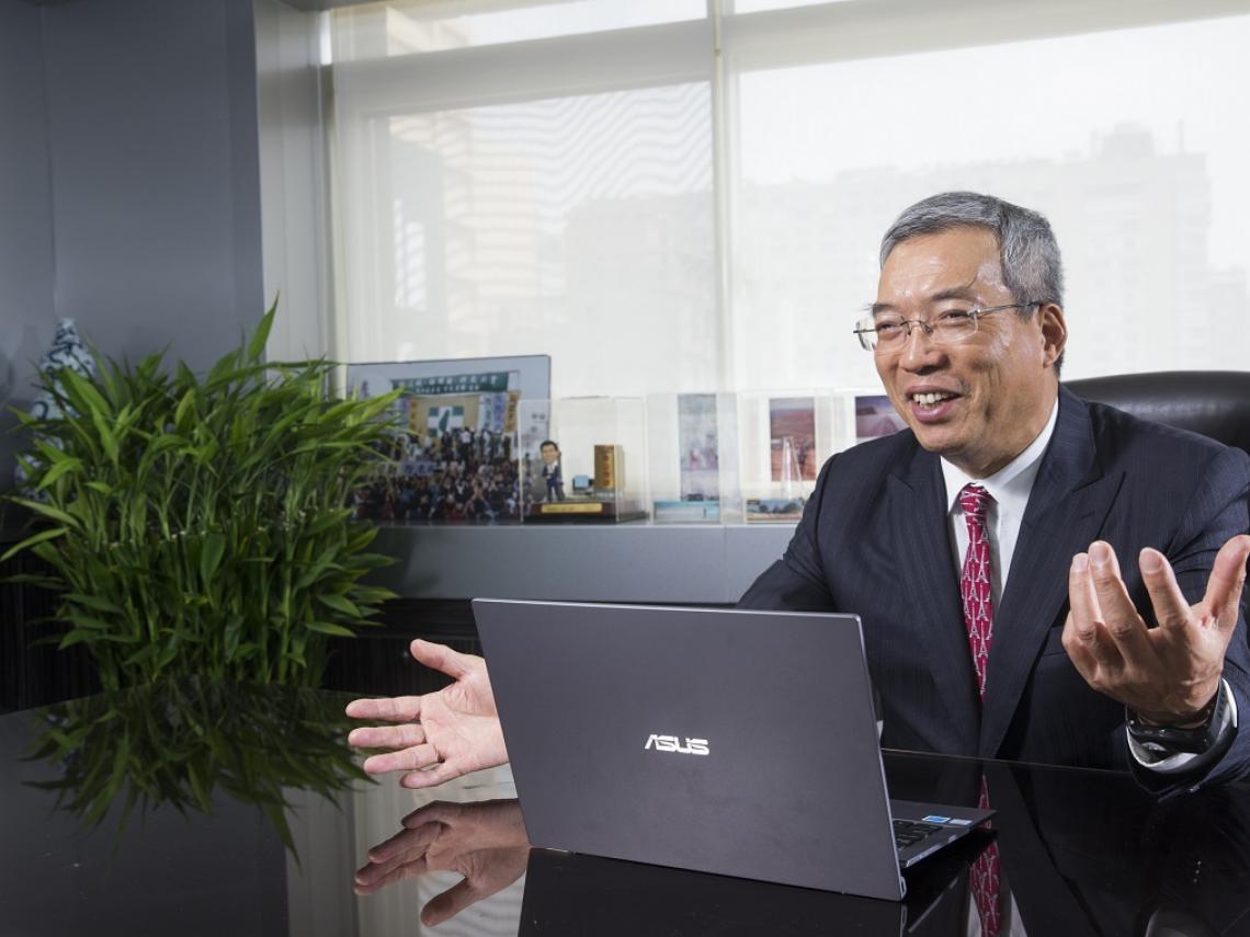 「我看好台灣的未來」 謝金河:不過經濟應該向前看,不是回到從前!