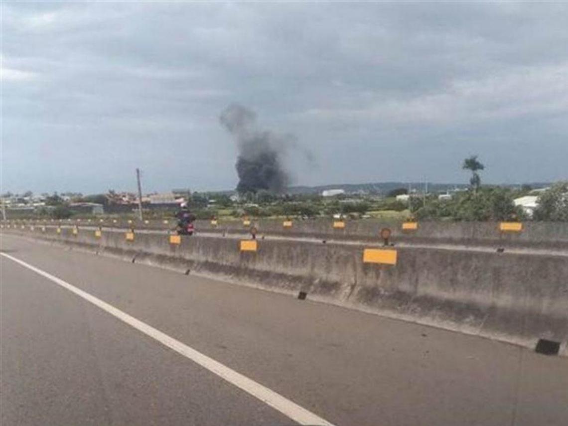 新竹空軍基地驚傳直升機墜落  2飛官送醫不治殉職