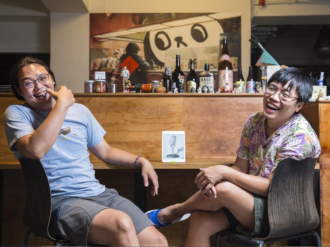 從便當店老闆到爆紅Podcast主持人  《台灣通勤第一品牌》一生都在研究怎樣講話才好笑