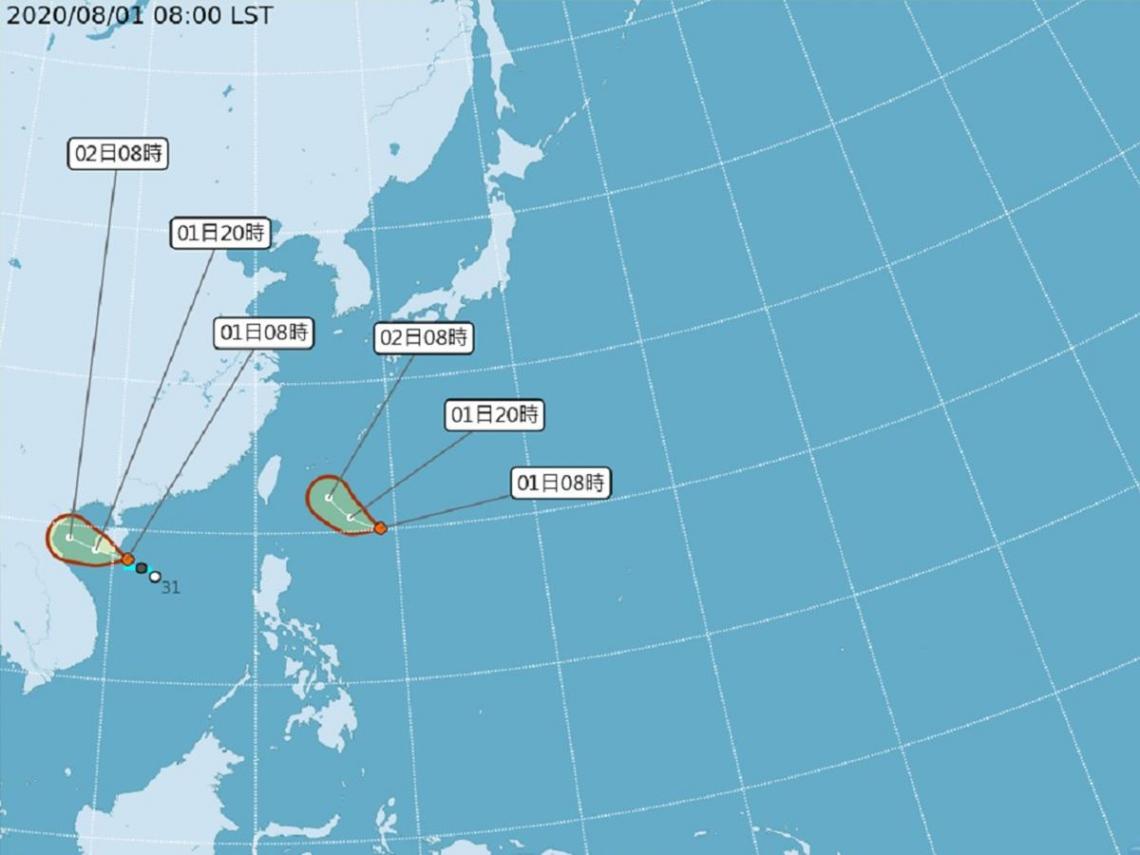 太平洋雙颱進逼?「辛樂克」颱風今恐生成 吳德榮:明起慎防劇烈天氣