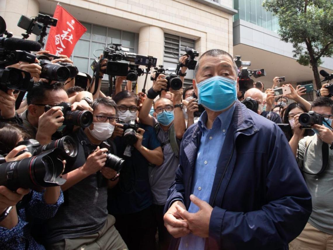 「別買壹傳媒股票,會虧!」黎智英獲釋後受訪 向投資人發出警告