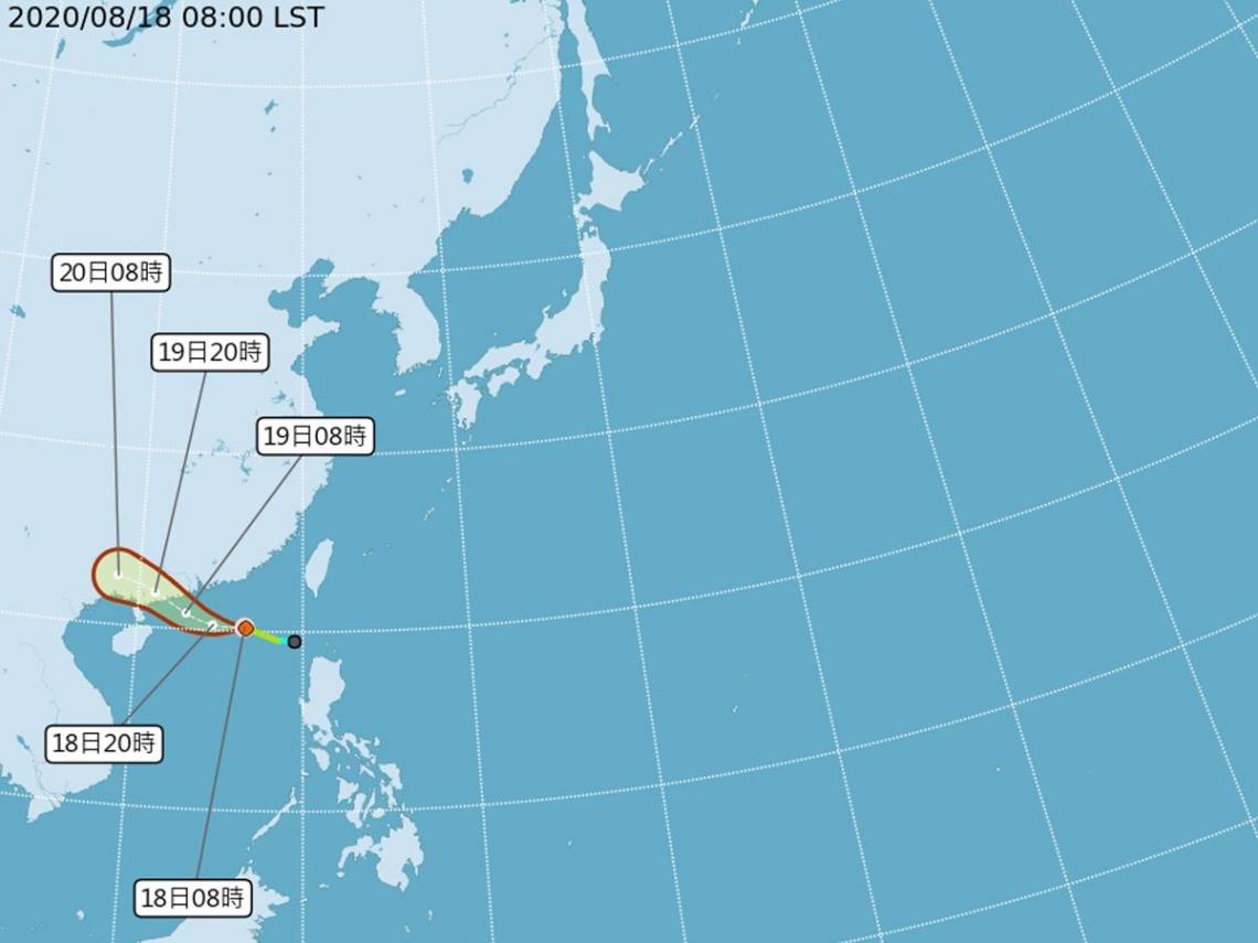 「無花果」颱風已生成! 氣象局示警:2地區慎防雷雨來襲