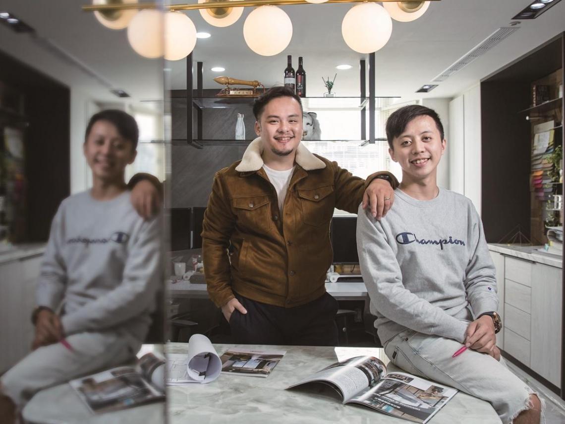 雅適登設計工程王敦仕、鄭光榮 結合商空及豪宅元素, 展現獨特的設計美學