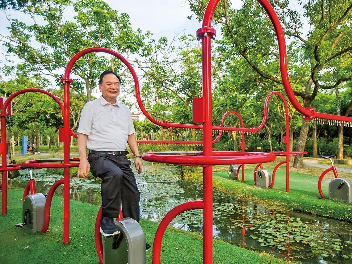 用全聯盈餘回饋社會 林敏雄自豪大安森林公園生態池「國際都來取經」