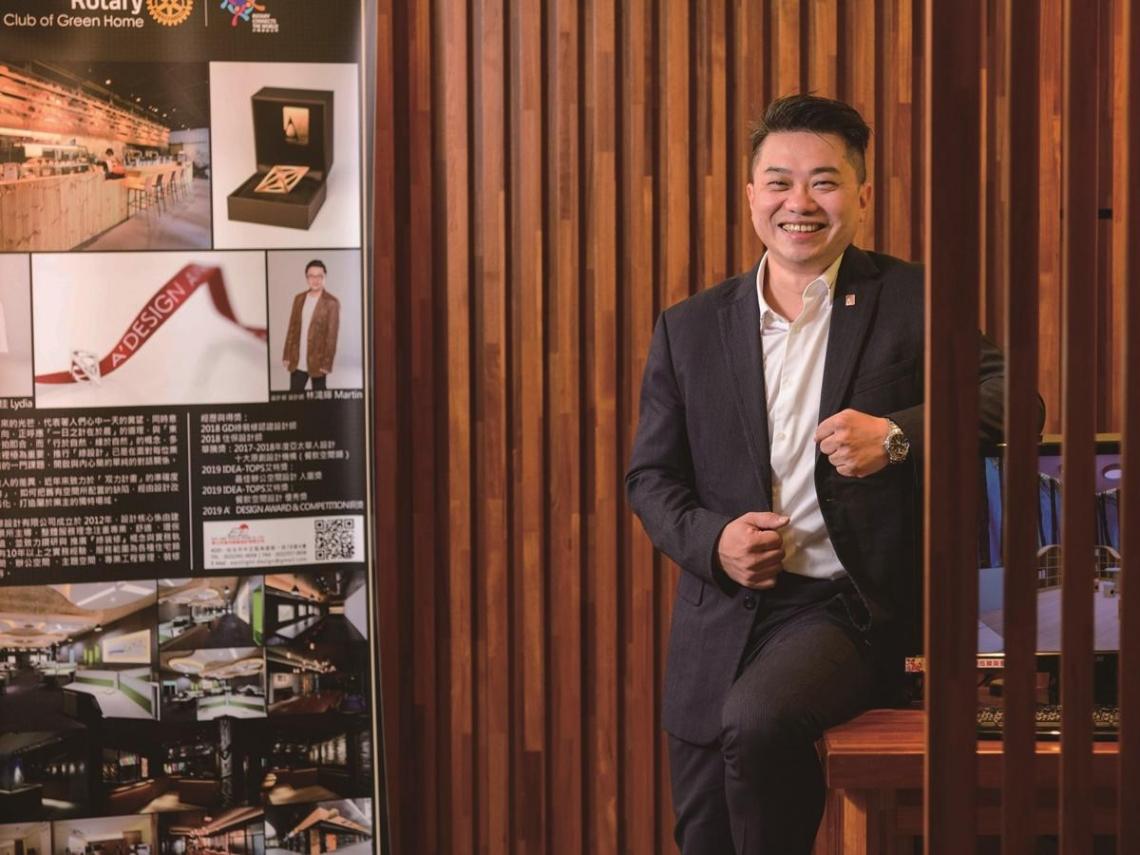 東之光設計林鴻輝 堅持環保建材 完美結合風格設計與健康機能