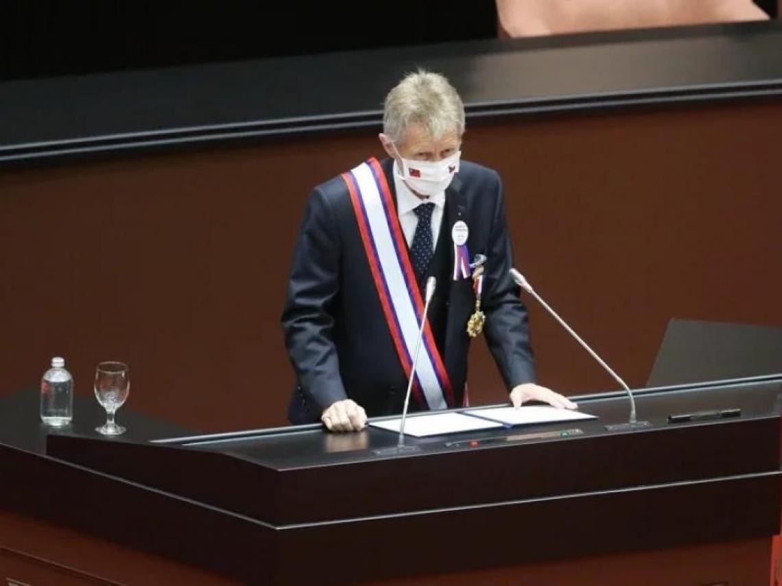 引甘迺迪名言反共產主義 捷克議長:我是台灣人!