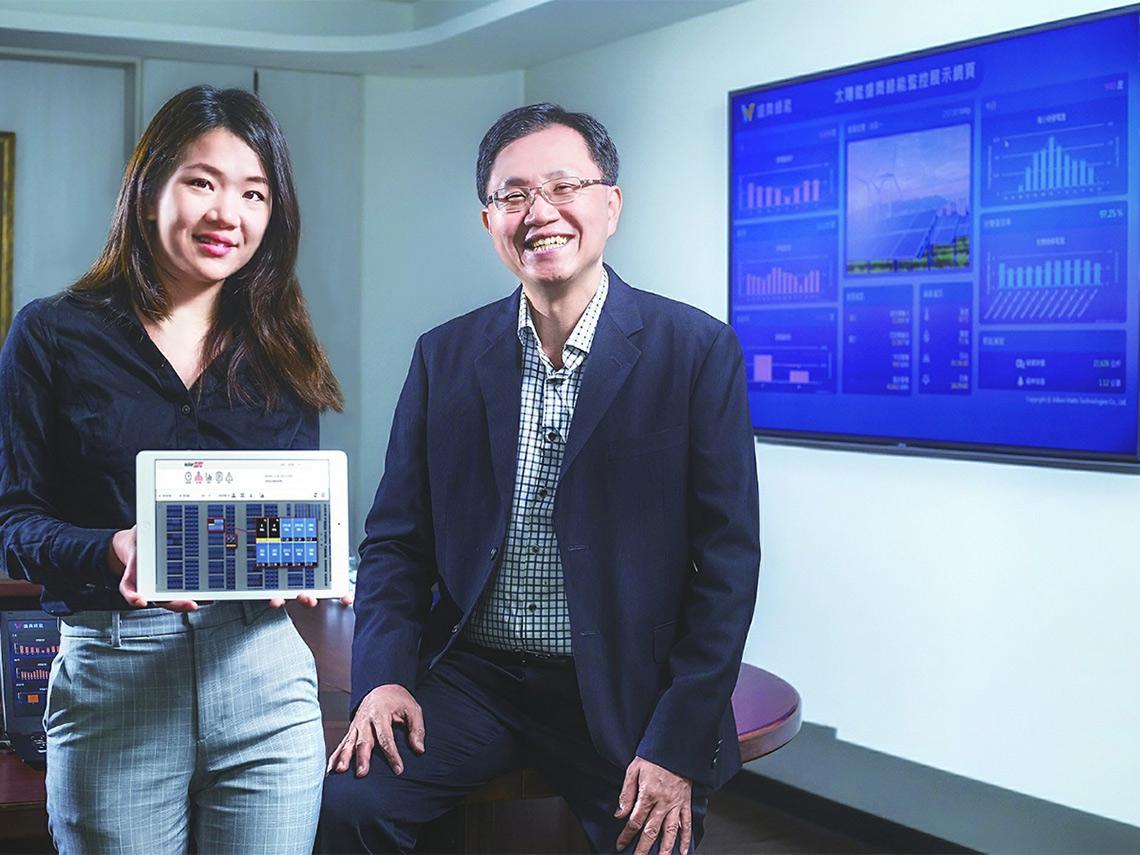 28歲理工女接棒!在台北盯彰化雞寮太陽能板 父女聯手啟動綠能大轉型