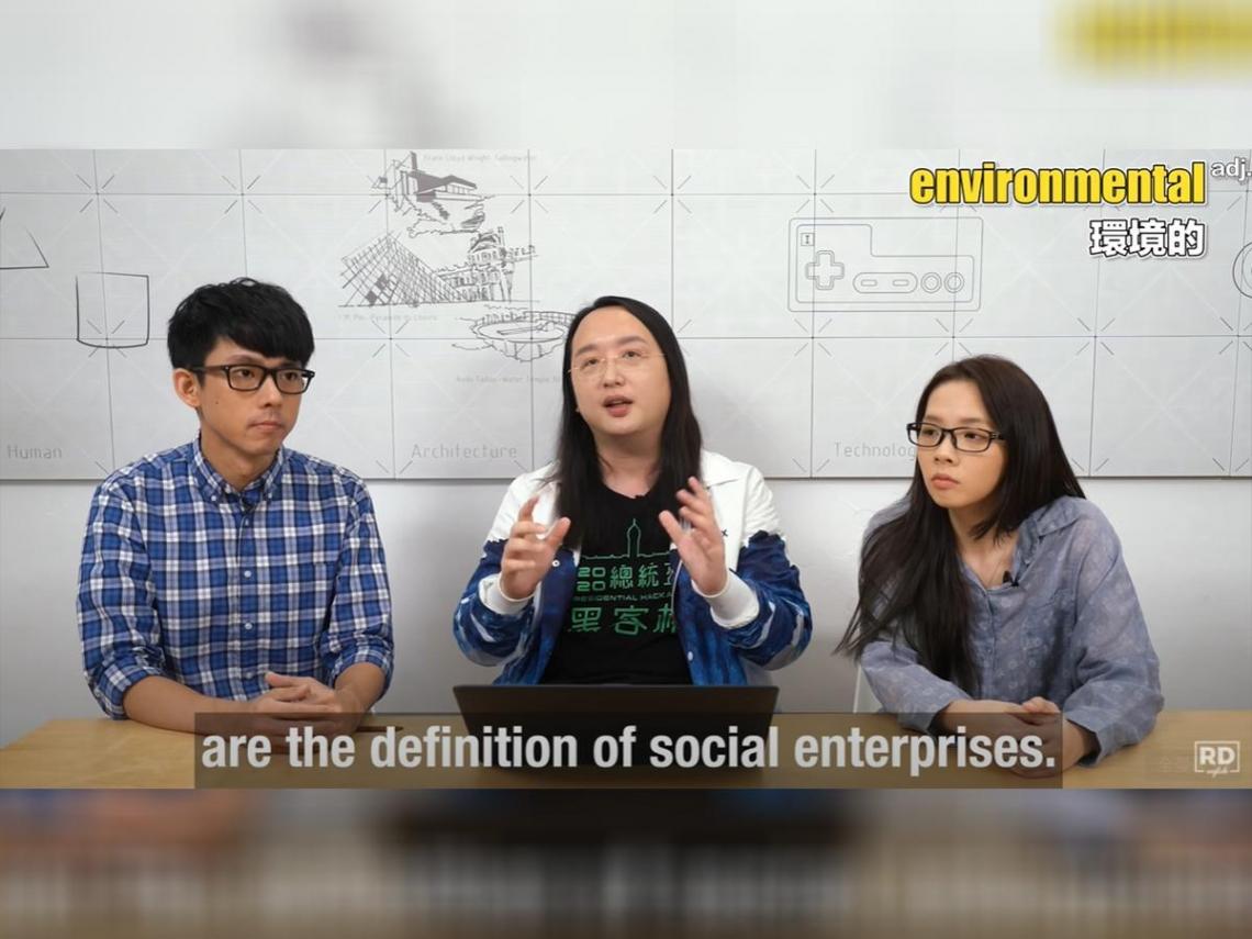 唐鳳踢館阿滴兄妹英文語速 網友驚呼:腦波被控制了