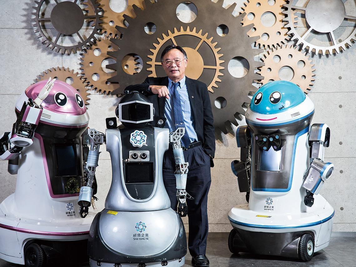 從亞馬遜、軟銀到台廠都在搶的兆元大餅 復健、防疫、送餐  最強機器人在身邊