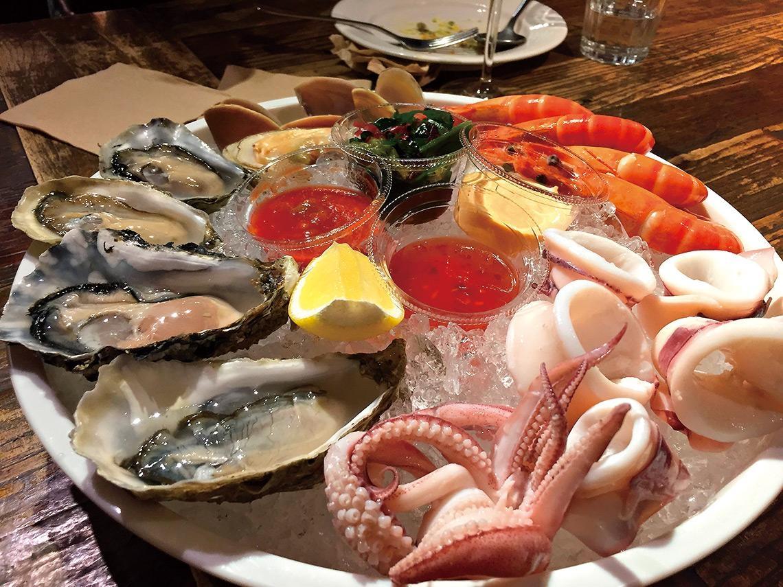 夏天的法式海鮮盤