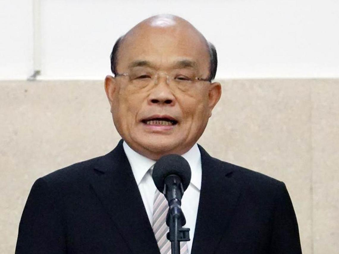 日媒稱謝長廷「大使」 蘇貞昌說話了